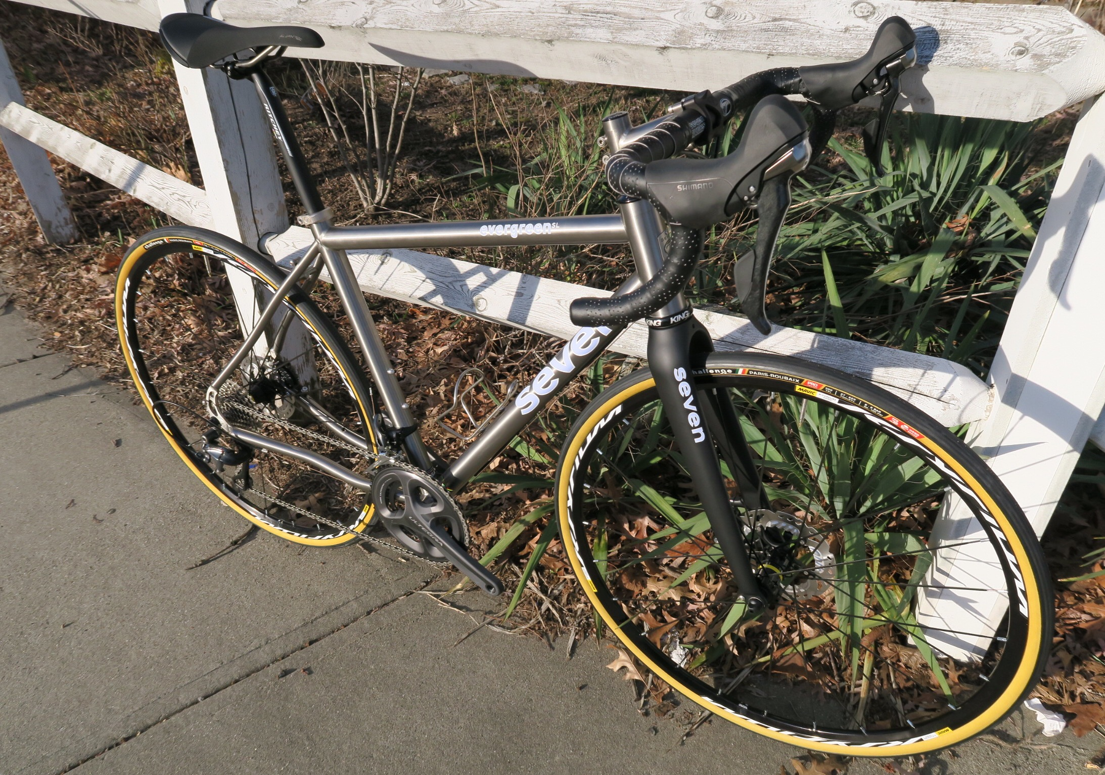 Seven Evergreen Gravel Grinder Bike